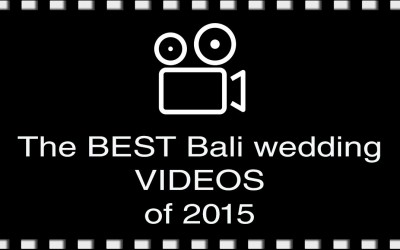 The best Bali wedding videos of 2015
