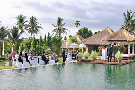 Bali villa wedding cost