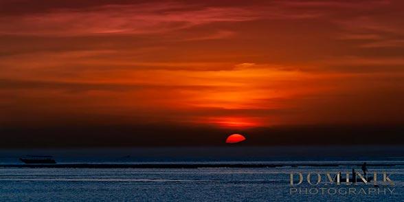 super sunset in Bali