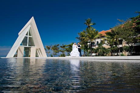 Bali chapel wedding
