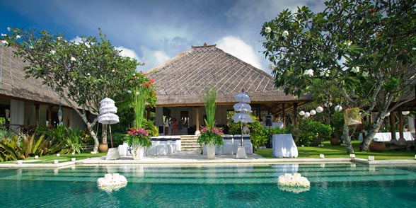 Bali Luxury Villa wedding