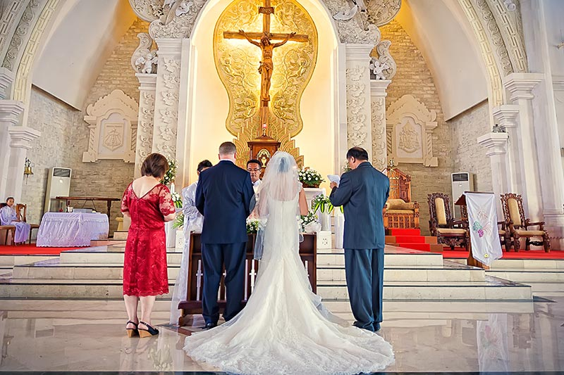 Bali Catholic Weddings