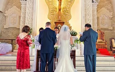 Catholic weddings in Bali no more, or ?