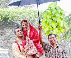 A Bali wedding in rain – what to do and prepare