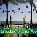 How to budget for a Bali wedding