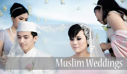 Muslim weddings in Bali