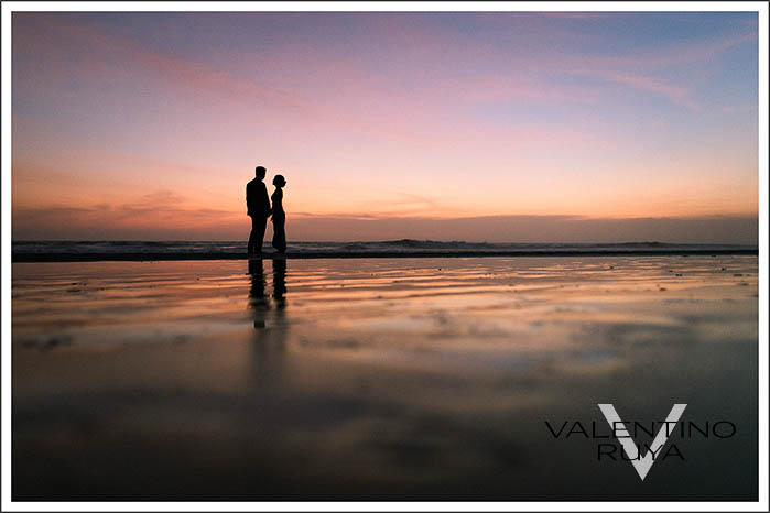 sunset wedding photographer