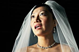 Unhappy Bali Bride