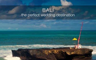 What makes Bali a world-class Wedding Destination?