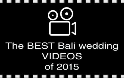 The best Bali wedding videos of 2015