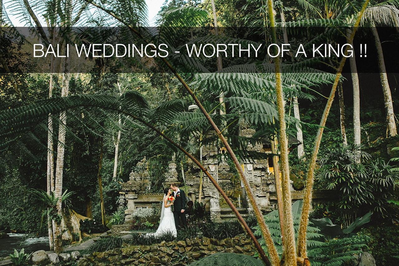 Botanica Weddings Ubud