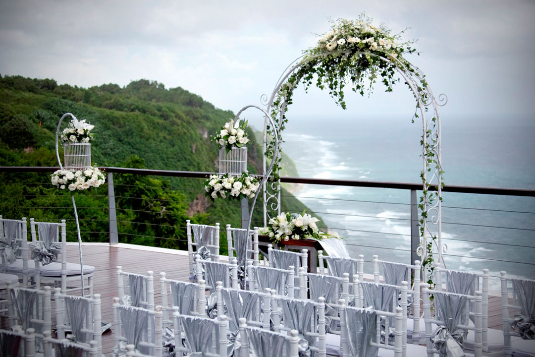 ceremony at the EDGE BALI