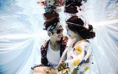 Bali Underwater Pre Wedding Photography