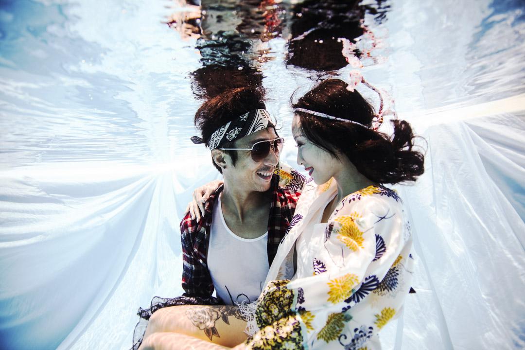 Bali Underwater Pre-wedding