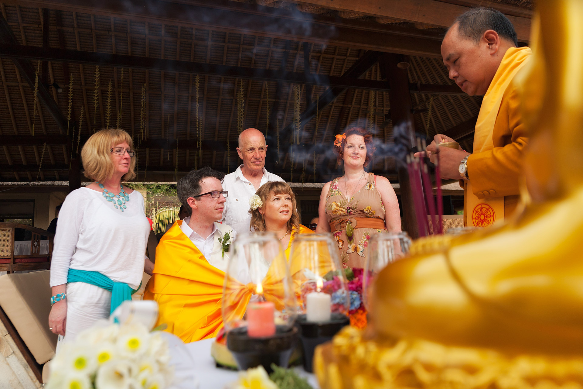 Buddhist weddings in Bali