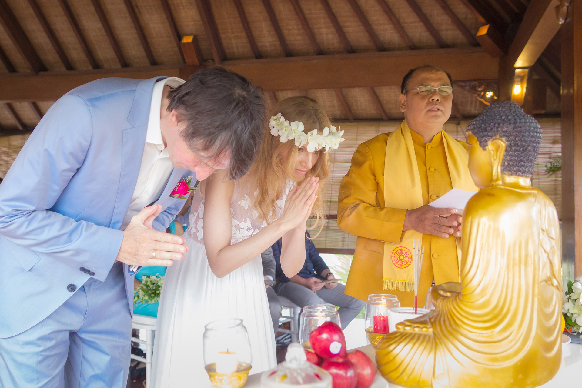 Bali Buddhist wedding
