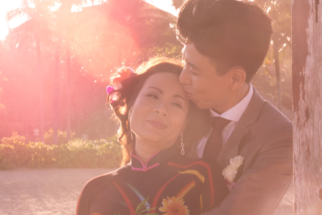 asian elopement wedding bali