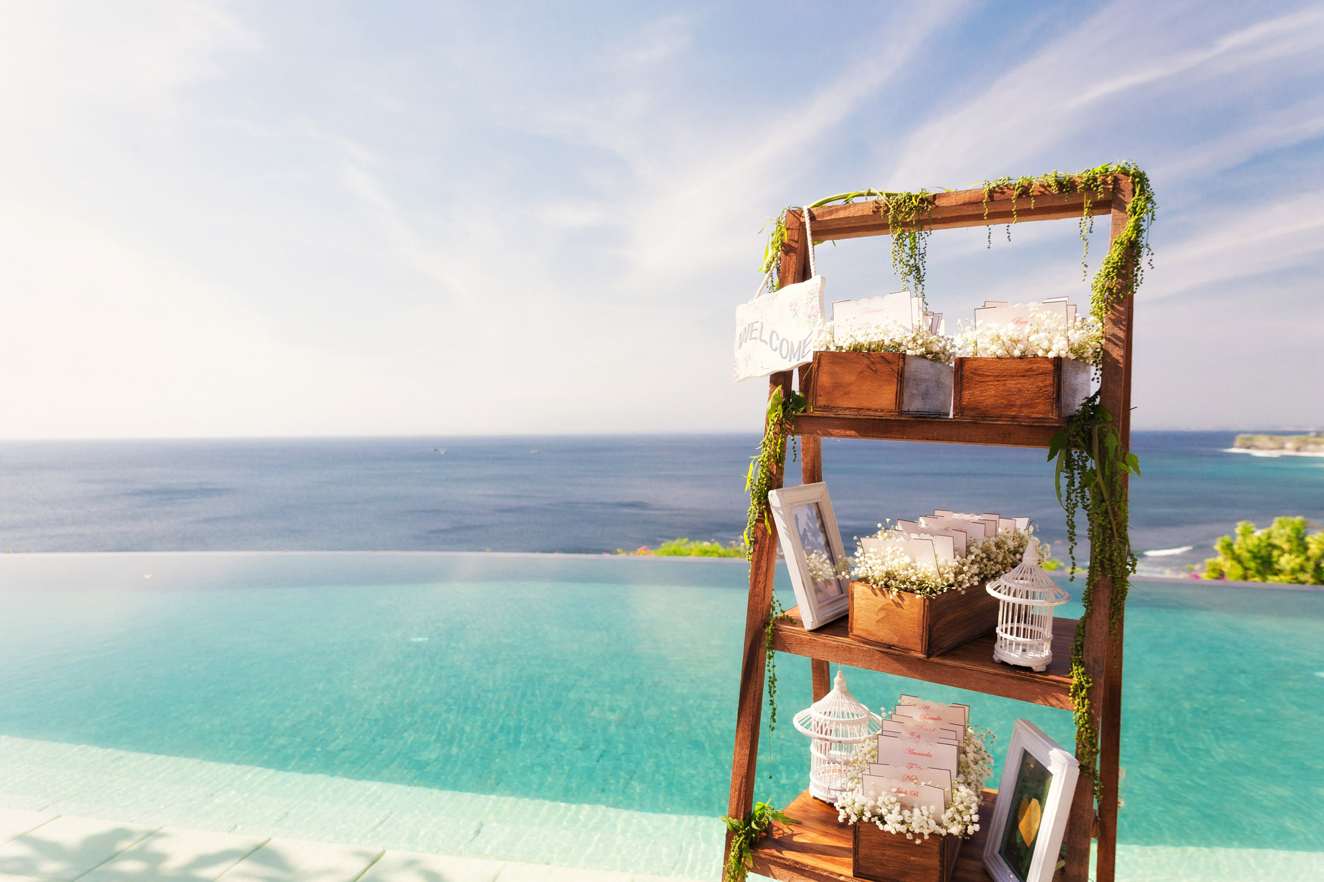 best Bali clifftop villas