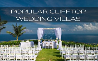 Best clifftop wedding villas in BALI