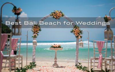 Best Bali beach wedding venue