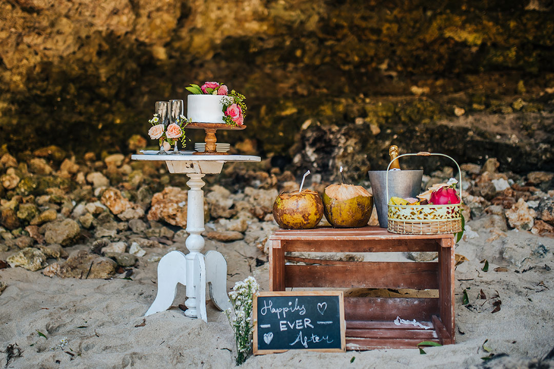 Beach Wedding picknick