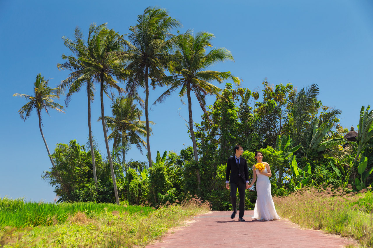 Good Bali elopement packages