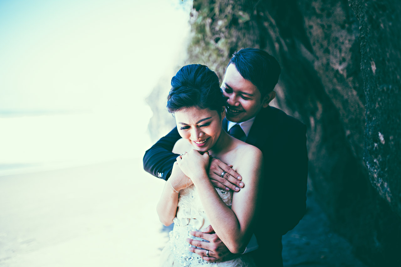 inexpensive Bali elopement