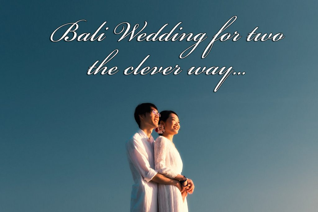 Best Bali elopement packages