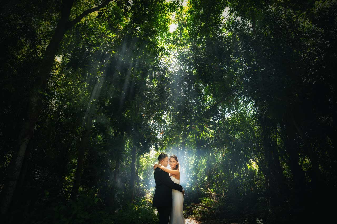 Best locations for pre-wedding photogphy Bali