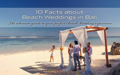10 interesting facts about Bali Beach weddings