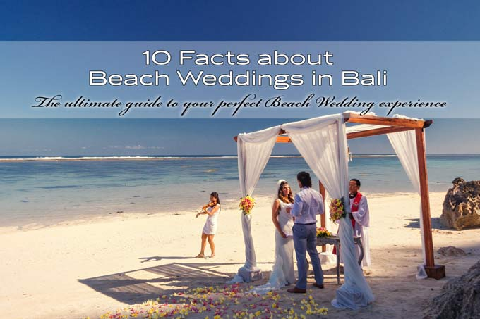 Beach weddings in Bali