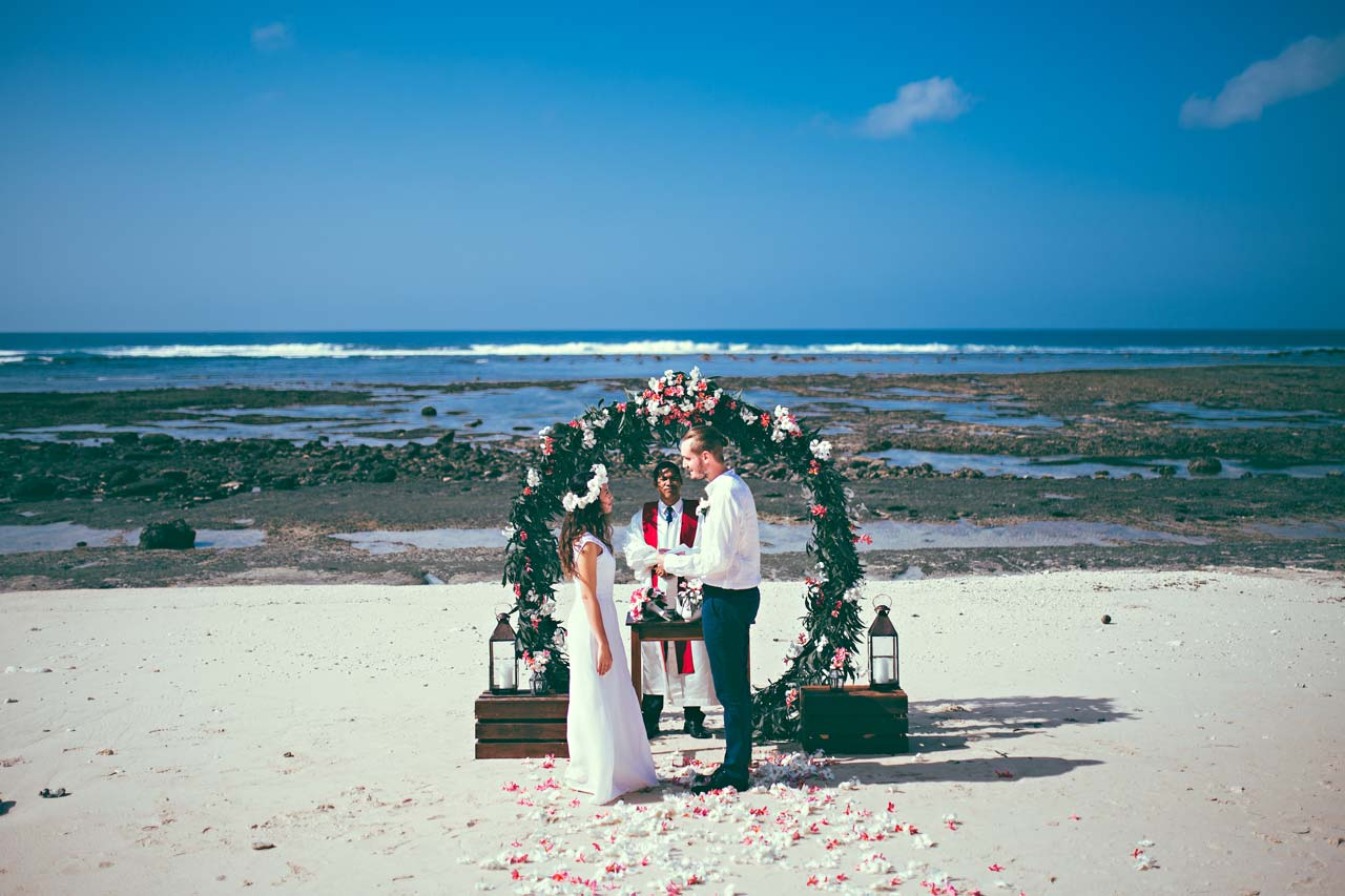 affordable Bali Beach weddings