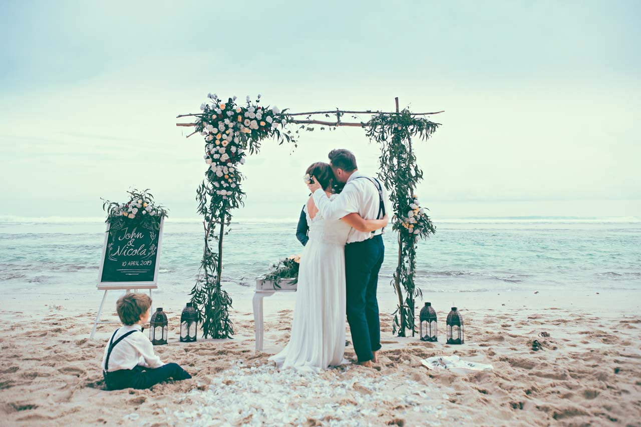 best Bali beach wedding packages