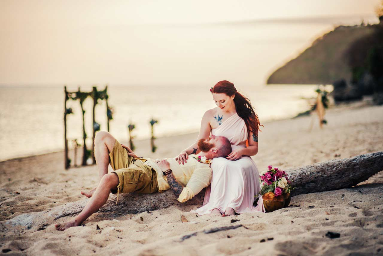 best beach for weddings in Bali