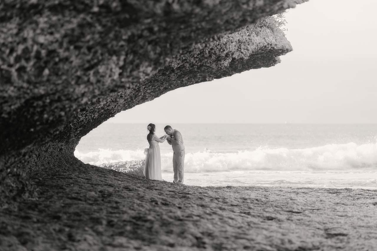 good beach for Bali weddings