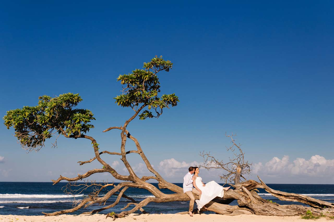popular beach wedding Bali