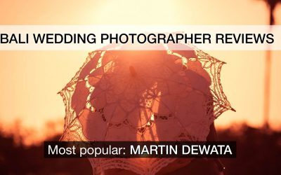 Bali Wedding Photographer reviews-the most popular-Martin Dewata