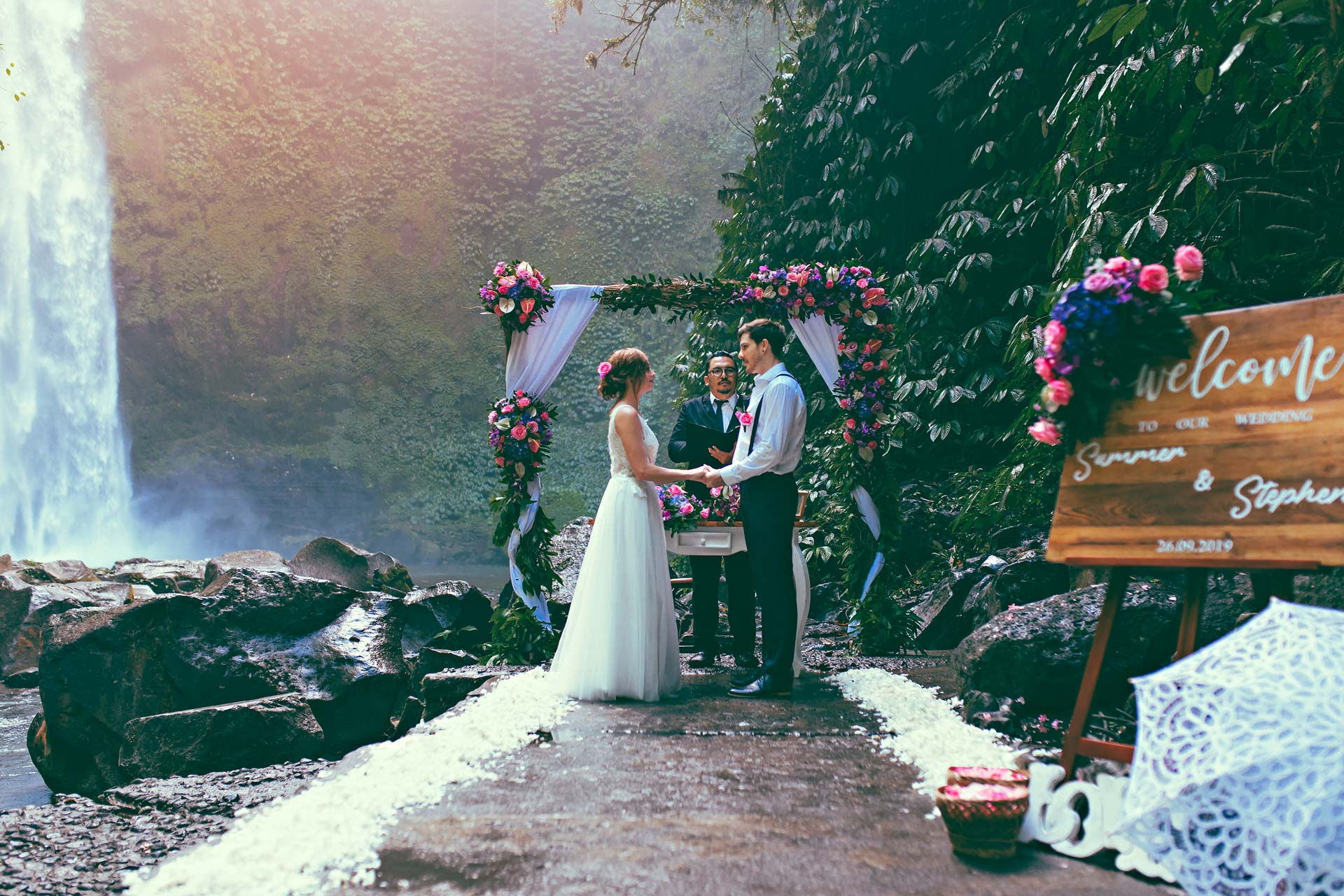 Popular-Bali-Waterfall-for-weddings