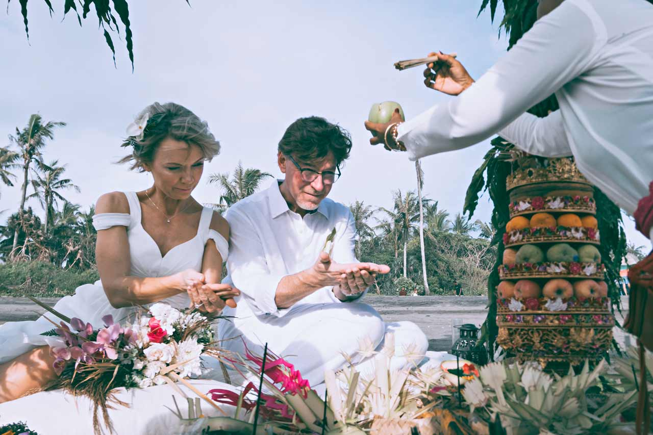Purification-ritual-during-Balinese-wedding